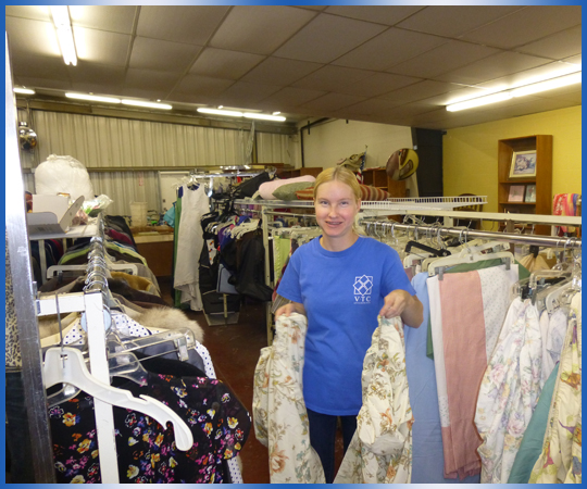 Purchase items from VTC's thrift store, or donate your items.